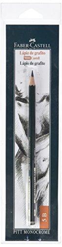 Faber-Castell 9000 - Lápiz de grafito, 9000 5B, color negro