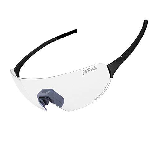 Preisvergleich Produktbild Sonnenbrille Für Brillenträger Outdoor Sport Reiten Farbwechsel Brille Männer Und Frauen Laufen Angeln Winddichte Polarisierte Brille Black Luxury Damen Herren