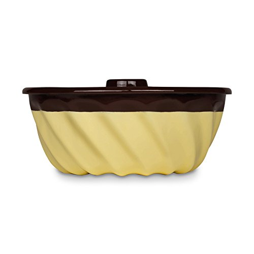 Tulbandvorm - 22 cm - Chocolade Vanille 22 cm