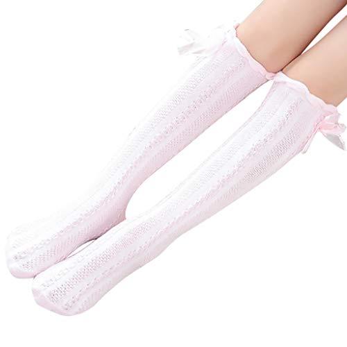 cinnamou Mädchen warme Baumwolle weiche Twist Strümpfe enge süße Kinder Socken Mädchen Socken,Spitzenbesatz Damen Sneaker Socken