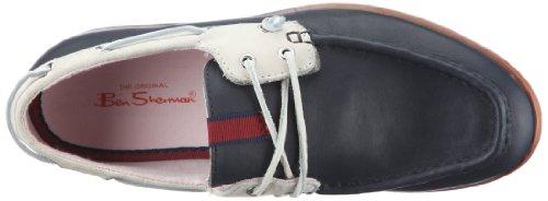 Ben Sherman ADAM LEATHER BN110109, Chaussures à lacets homme Bleu-TR-E1-420