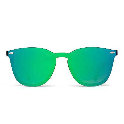 Sport Sonnenbrille  Radsport rahmenlose Sonnenbrille verspiegelt Brille Outdoor