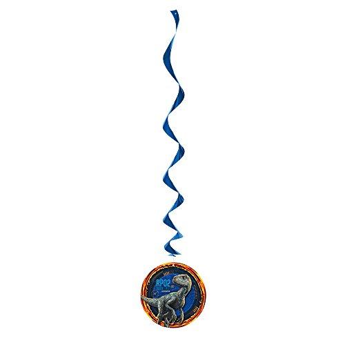 Unique Jurassic World Hanging Swirl Decoration Kit
