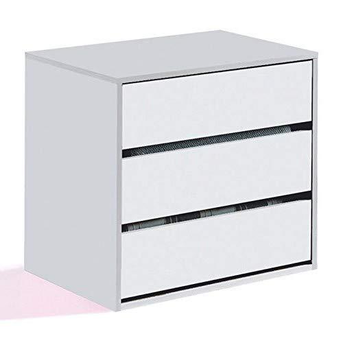 Habitdesign - Cajonera para Armario, Dimensiones 60 x 57 x 44 cm...