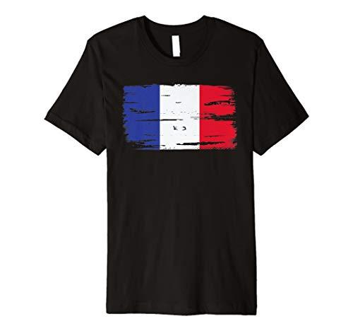 Frankreich Französisch Flaggen T-Shirt