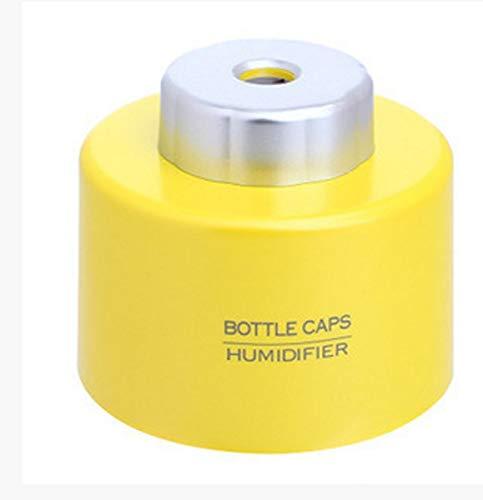HNXCJS Luftbefeuchter Luftbefeuchter Mini Dc 5 V Büro Luft Diffusor Ätherisches Öl Diffusor Sticks Usb Portable Abs Wasserflasche Cap Aroma Mist Maker,C -