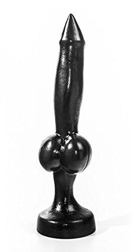 """Animal Dildo """"Dobermann"""" ca.32x4,3cm schwarz Realistische Nachbildung"""