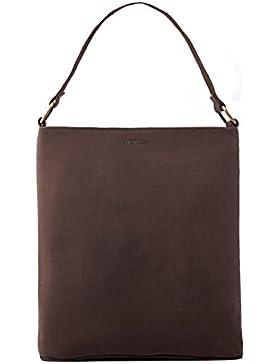 6ab948815a2cf LEABAGS Reeds Handtasche aus echtem Büffel-Leder im Vintage Look
