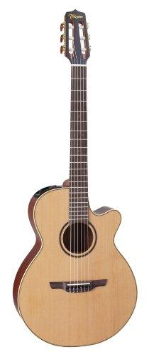 TAKAMINE EC P3FCN FCX CUTAWAY NYLON + KOFFER Elektroakustische Gitarren Folk E-Akustik Nylon-Saiten - Akustische Elektro Nylon-gitarre