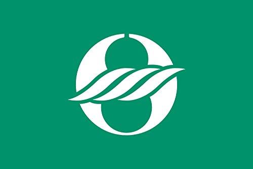 magFlags Drapeau XL Nagahama, Shiga Variant   Nagahama, Shiga Green Background Variant   ???? ??   Drapeau Paysage   2.16m²   120x180cm