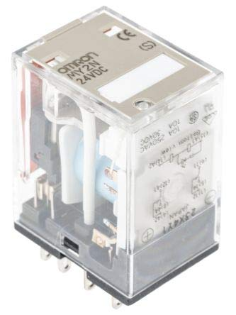 Omron Einschaltrelais, 10 A DPDT, Plug In Typ 2-polige Steckverbindung, MY2N 24DC(S), 1 Omron Plug-in