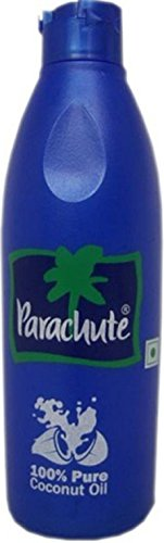 Parachute 100% Pure Premium Coconut Oil 500ml - Edible, Hair, Skin Moisturiser & Conditioner by Parachute