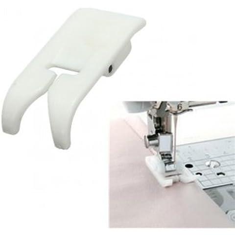 Tanzimarket - Costura de alta calidad de la máquina de plástico de teflón Prénsatelas Ultra Zigzag Snap On Foot