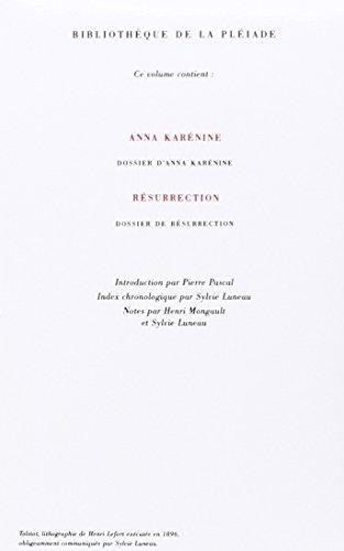 Anna Karénine - Résurrection