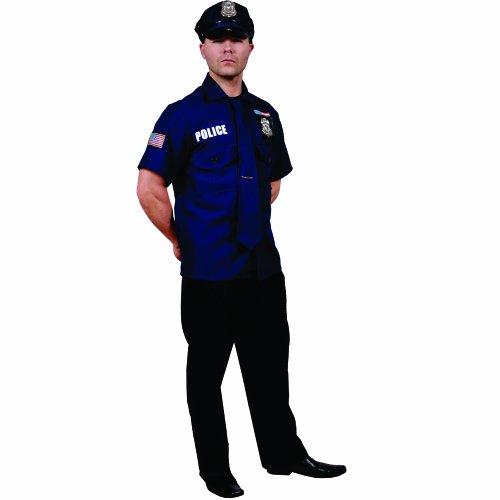 achsene Polizist Kostüm (Polizist Halloween Kostüm Für Männer)
