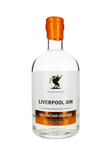 Liverpool Valencia Orange Gin, 70 cl - Organic