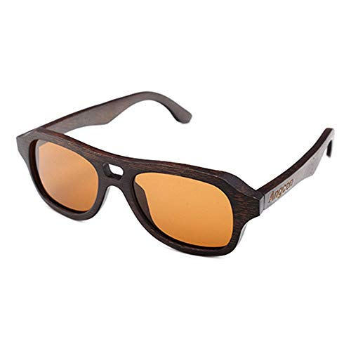 FURUDONGHAI Bambusbeschichtete polarisierte Sonnenbrille Trend Fashion Outside Herrenbrille Eine Vielzahl von Linsenfarben UV400-Schutz besonders geeignet für sommerreisen oder Outdoor s