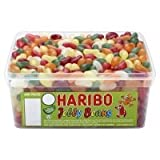 Haribo Jelly Beans Tub Retro Kids Sweets - 600 der