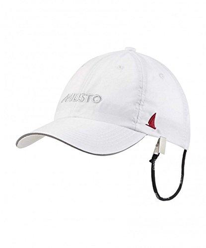 Musto 2016 Fast Dry Crew Cap in White AL1390