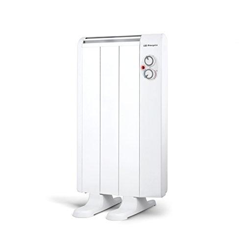 Orbegozo RRM 510 - Emisor térmico sin aceite, 3 elementos, 500 W, 2 niveles de potencia, color blanco...
