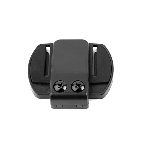 JesseBro76 V4/V6 Headset with Mic Helmet Intercom Clip for Motorcycle Device Black Intercom Mic