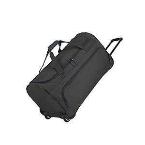 Travelite Basics Trolley Reisetasche Fresh auf Rollen 70cm, in sechs Farben Bolso de Viaje 71 Centimeters 89 Gris (Anthrazit)