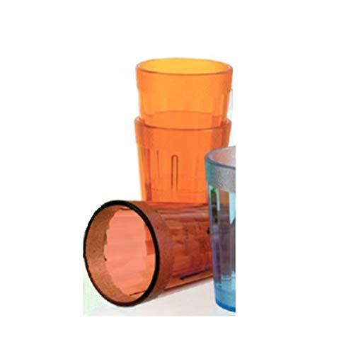 Visiodirect Boite DE 12 Bobelets Mandarine 25 cl