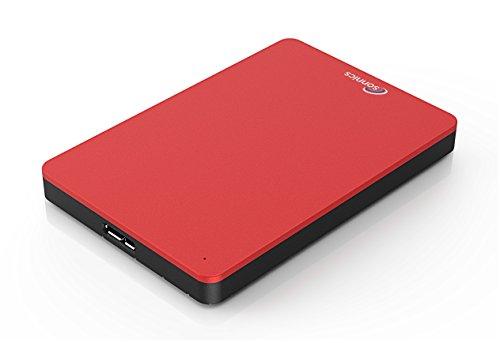 Sonnics 250GB Rojo Disco duro externo portátil USB