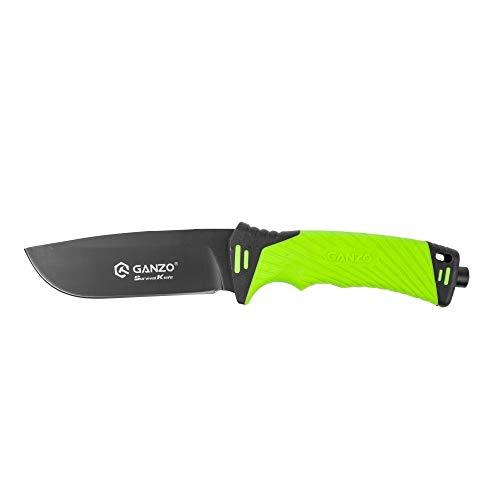 -GANZO G8012-LG • Alltags Messer EDC • FESTSTEHENDE Messer • Gesamtlänge: 245mm • TM-SW.
