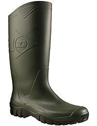 Dunlop K680011 PVC KNIELAARS - botas de goma sin forro con caña media de goma Unisex adulto