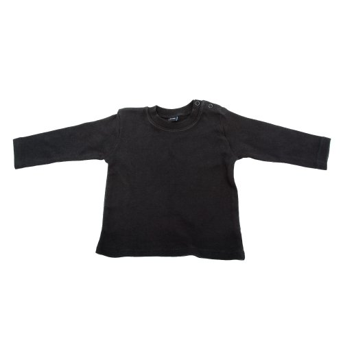 Babybugz Babybugz Baby Mädchen T-Shirt, Langarm (3-6 Monate) (Schwarz)
