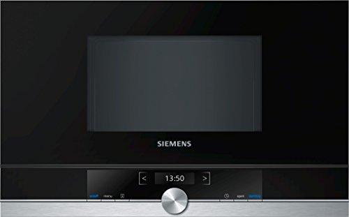 Siemens BF634RGS1 - Microondas (1220W, 59,4 cm, 31,8 cm, 38,2 cm) Negro,...