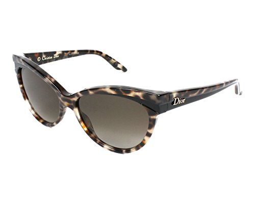 Dior Für Frau Dior Sauvage 1 Panther / Black / Brown Gradient Kunststoffgestell Sonnenbrillen
