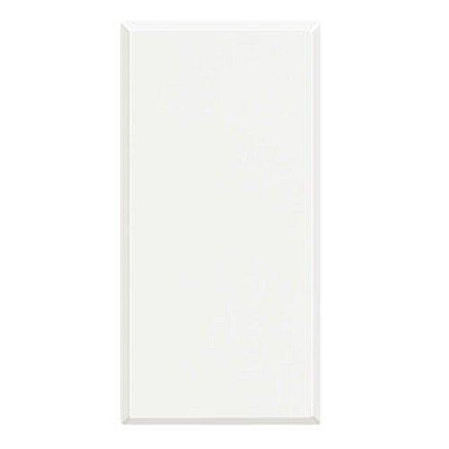 BTicino Axolute HD4950 Tasto Falso Polo 1 Modulo, Bianco