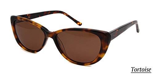 LKVNHP Cat Eye Sonnenbrille Frauen Retro Vintage Kleine Polarisierte Sonnenbrille Acetat Markendesigner Für Weibliche Uv400 BrilleSchildkröte