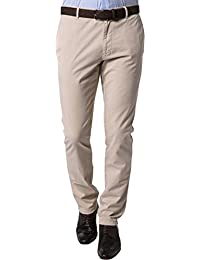 Strellson Premium Herren Hose Modisch, Größe: 38/34, Farbe: Beige