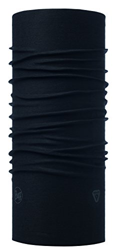 Buff Thermonet Schlauchschal, Solid Black, One Size