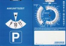 Preisvergleich Produktbild RNK 3118 Auto- und Fahrtenbücher Parkscheibe 11 x 15 cm Karton