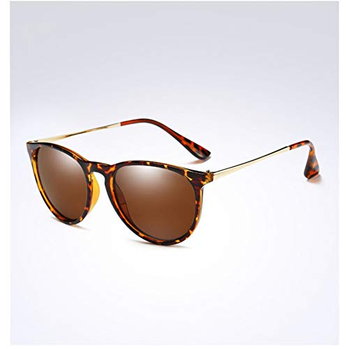 CCGKWW Womens Retro Vintage Cat Eye Sonnenbrille Weibliche Mode Verspiegelte Brillen Markendesigner Polarisierte Sonnenbrille
