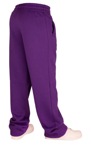 Urban Classics Loose-Fit Pantalon Sweat Limegreen Violet - Purple - Purple