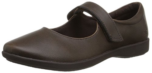 Hush Puppies Lexi Uniform Mary Jane (Toddler/Little Kid/Big Kid) Brown
