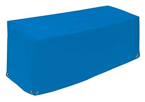 Lounge Bank – Couverture | robuste et durable Capot de protection | Coque de protection étanche pour meubles de jardin | Bâche de bâche de camion (650gr/M²) | 14 couleurs 205x100x70 bleu ciel