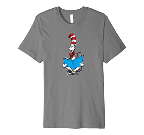 Dr. Seuss Reading Cat T-shirt