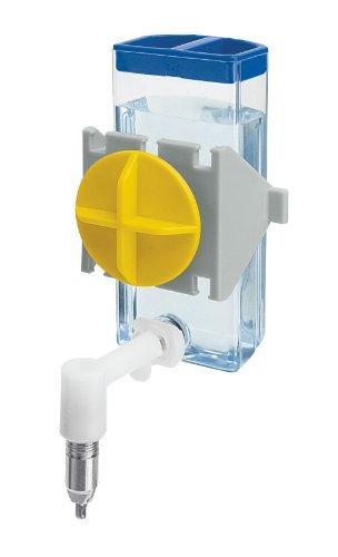 Ferplast 84672070 Nager-Trinkautomat SIPPY 4672 SMALL, Befestigung am Gitter oder an glatten Oberflächen, Inhalt: 100 ml