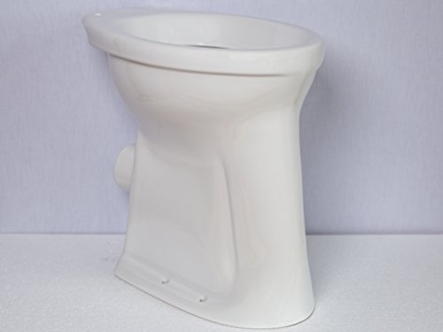 Flachspül-WC Toilette Stand WC Klosett erhöht +10cm + Nano