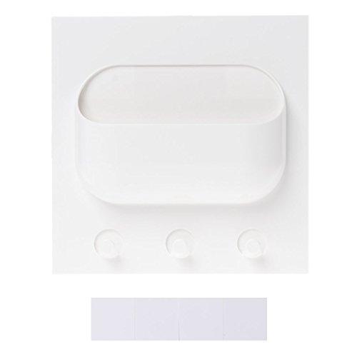 ruiruiNIE Plastikkleber-Speicher-Regal-Wand-Stock-Halter-Gestell-Badezimmer-Organisator
