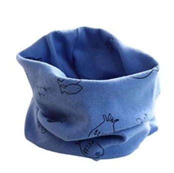 M-g-x morbida e calda sciarpa scaldacollo multiuso per bambini, con motivo con animali, bandana per bambini size 1 (style10)