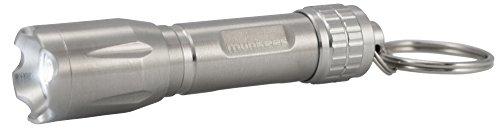 munkees Edelstahl-Mini-Taschenlampe Cleanlight als Schlüsselanhänger, 1038