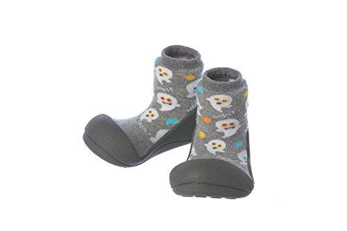 Attipas Zapatos Primeros Pasos- Modelo Halloween- 21.5, Gris