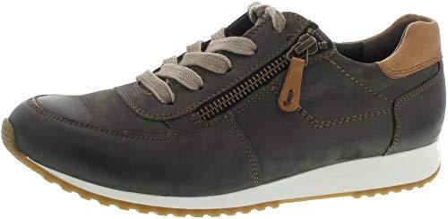 Paul Green 4252-412 Damen Sneaker aus feinstem Nubukleder Lederinnenausstattung, Groesse 6 1/2, dunkelgrau